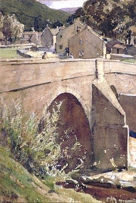 Arthur Reginald Smith Govt Art Collection, Kettlewell Bridge