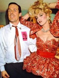 PRICE, Antony with Jerry Hall photo