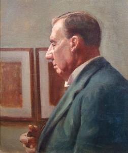 VARLEY, Illingworth. Portrait of artist by Mabel Illingworth