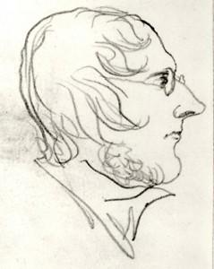 BRONTE, Branwell self-portrait, Bronte Soc