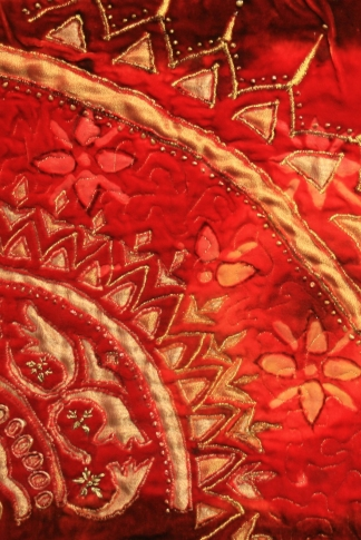 RAZA, Musarat. Embroidery image www. saa-uk.org.