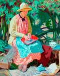 Budd, Herbert Ashwin; Lavender; Bradford Museums and Galleries; http://www.artuk.org/artworks/lavender-23448