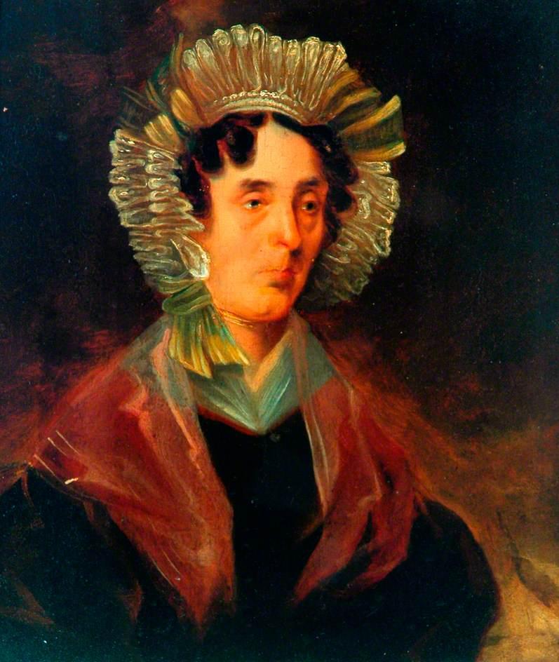 Bronte, Patrick Branwell; Mrs Isaac Kirby; Bronte Parsonage Museum; http://www.artuk.org/artworks/mrs-isaac-kirby-20987