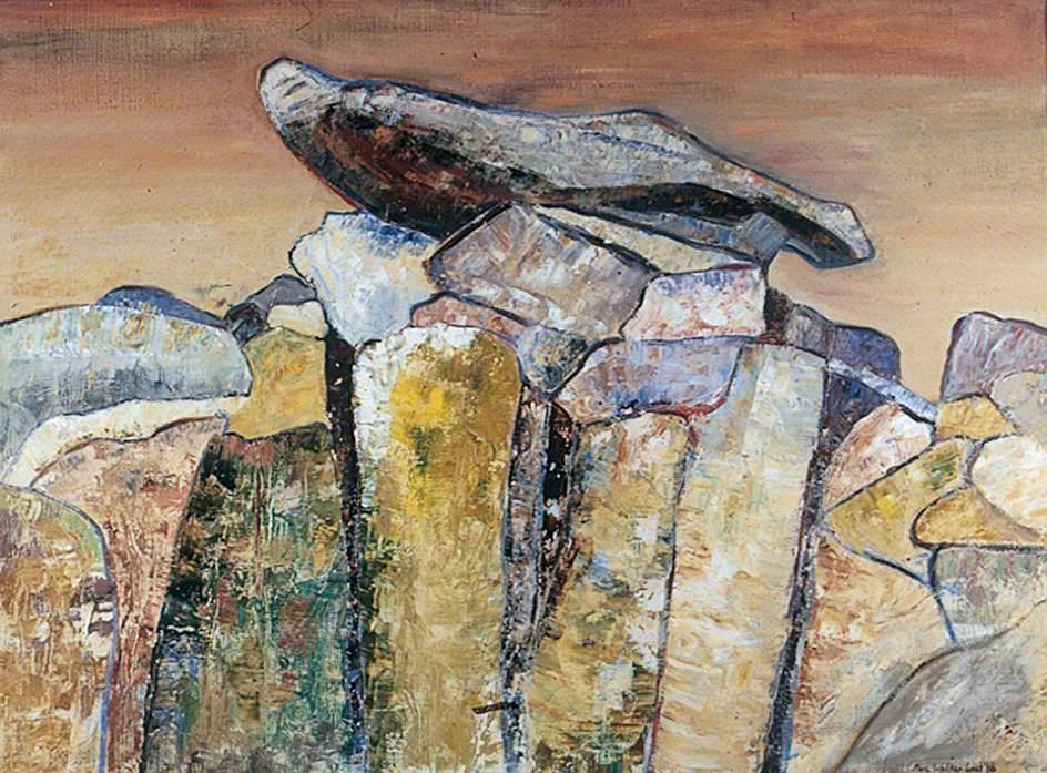 Last, Marie Walker; Sentinel Rock; The Stanley & Audrey Burton Gallery, University of Leeds; http://www.artuk.org/artworks/sentinel-rock-39145