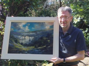 TAYLOR, Jeremy. Photo of artist. Wharfedale Observer