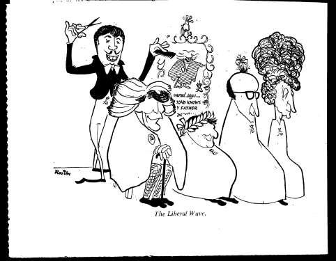 ROOUM, Donald. Liberal Wave Spectator 1963