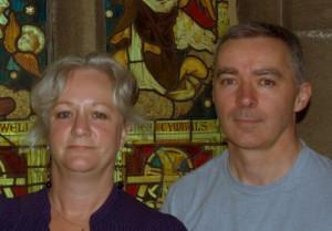COOKE, Jonathan. photo of him & his wife