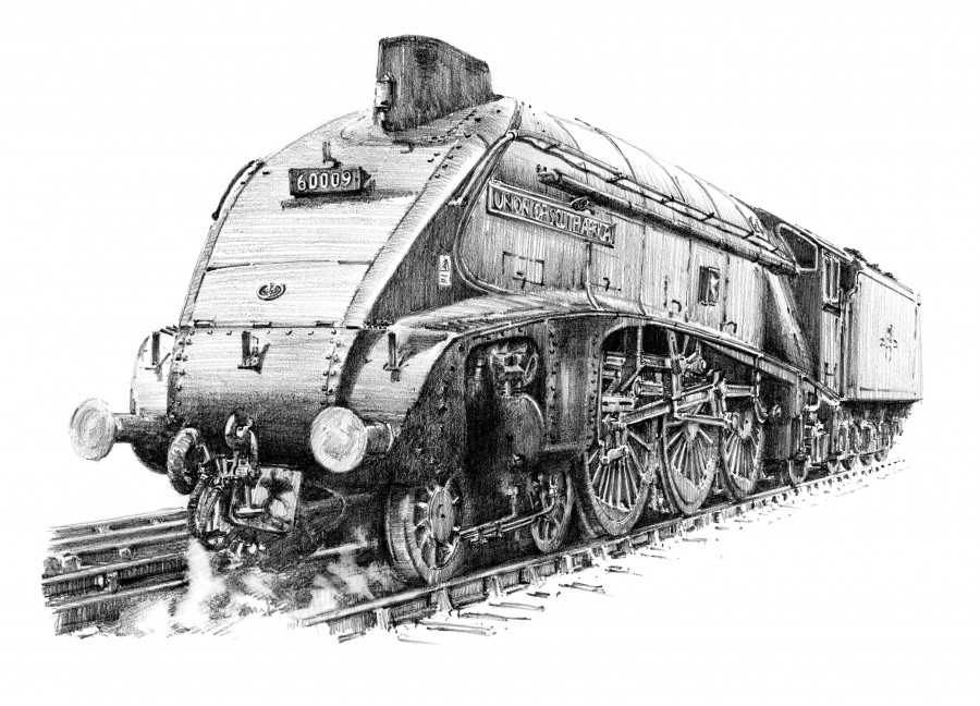 HAMMOND, Jules. LNER Class A4 Union of SA