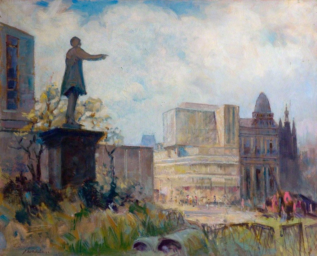 Bradshaw, Frank; The Changing Scene, Forster Square; Bradford Museums and Galleries; http://www.artuk.org/artworks/the-changing-scene-forster-square-23431