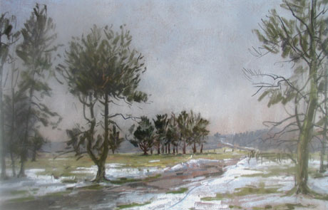RANDS, Angus Helmsley Bank, Thawing Snow
