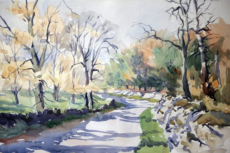 RANDS, Angus autumnal-dales-scene.jpg The Hoyle Gallery